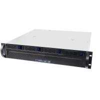 Серверный корпус 2U NR-R204 4xHot Swap SAS/SATA (EATX 12x13, 380mm), черный, Negorack